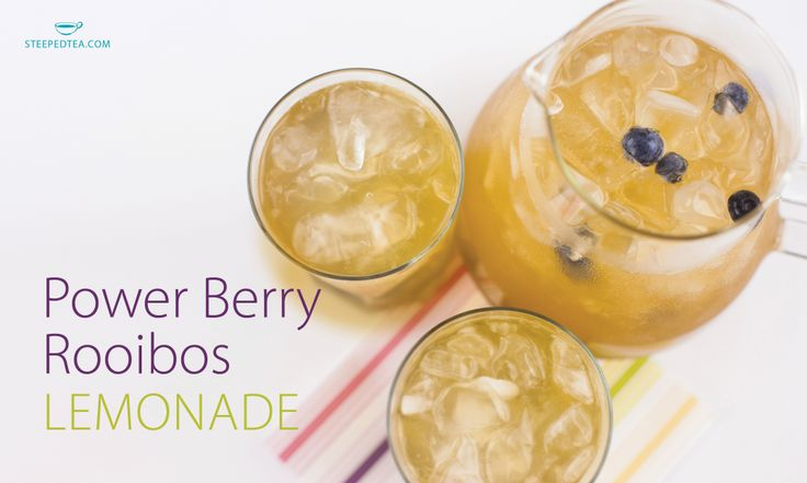 A summery drink that packs a punch with citrus and berry!