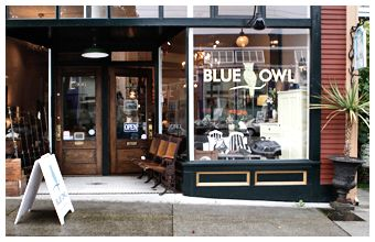 Blue Owl Home Boutique - Antique, Vintage & Contemporary Goods For The Home: About Us