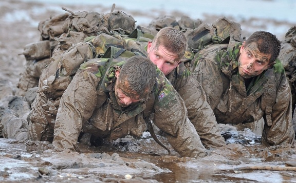 Royal Marines Training