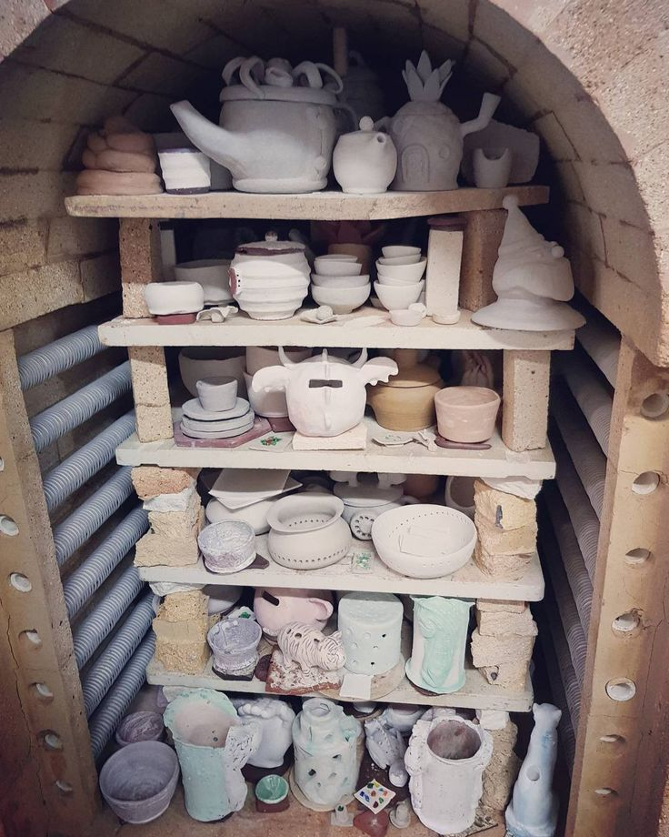 Another week, another full load ready to be fired tomorrow and continue Friday, UPH kiln.