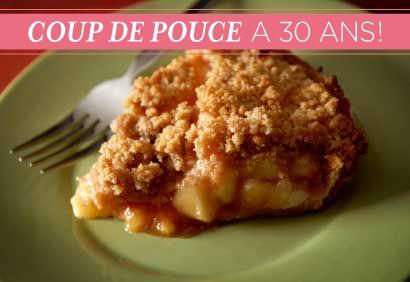 TOP 30 Recettes No 7 : #Croustade aux #pommes à l'érable #érable #CDP30