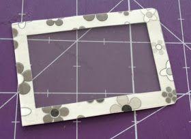 O que você vai precisar:     - folha de papel craft (200 g)   - papel decorado   - folha de acetato   - gabarito de marcação TEC – Viagem I...