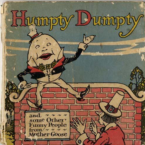 Humpty Dumpty - vintage children's book