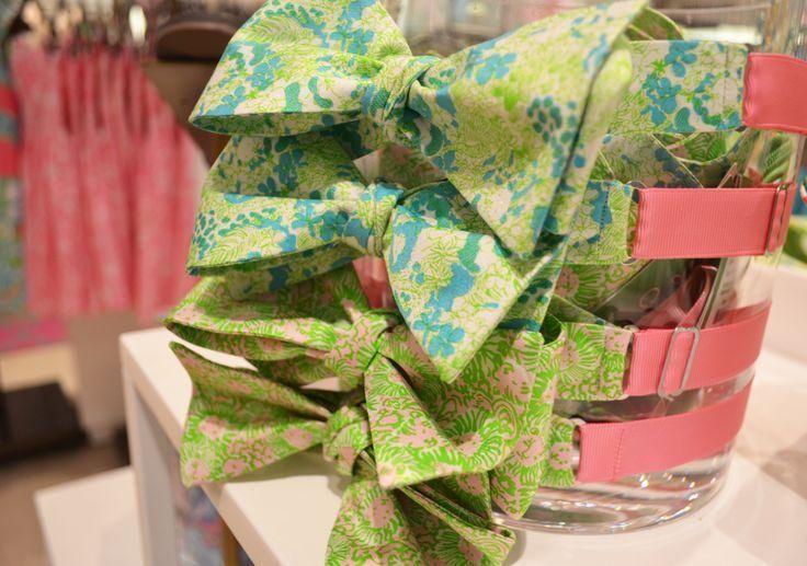 Lilly Pulitzer Men's Silk Bow Tie