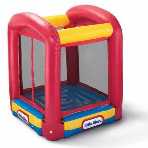 Flynn- could this fit in house for winter????  Bounce House Trampoline from #littletikes - $119.99