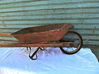 for sale onebay nov 30/14 vintage-antique-childs-wheelbarrow
