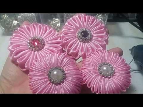 Tutorial bunga donat (model 2 dan 3) - YouTube