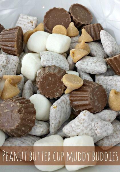 Peanut Butter Cup Muddy Buddies #momentswithmandi