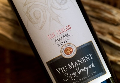 Viu Manent Single Vineyard Malbec: Colchagua, Chile