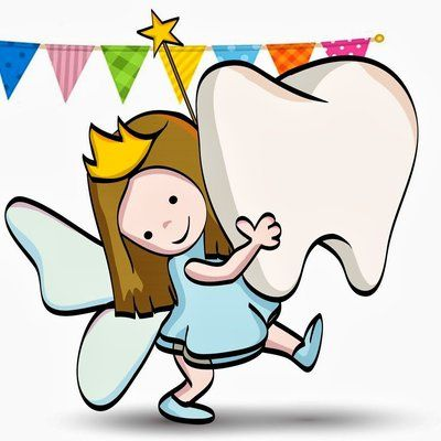 The tooth fairy loves healthy teeth!