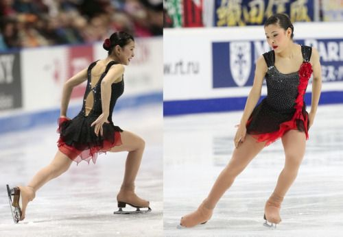 Kanako Murakami skating to tangos by Astor Piazzolla at the 2012 Skate Canada and 2012 Cup of Russia. Sources: 1 and 2.