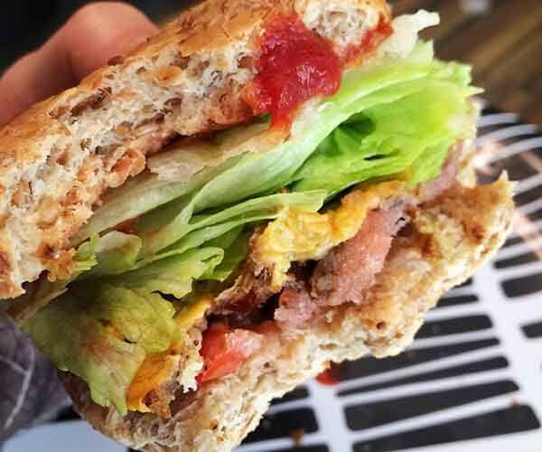 A Vegan Burger That Uses Pea Protein Powder Protein Burger Pea Protein Powder Recipes