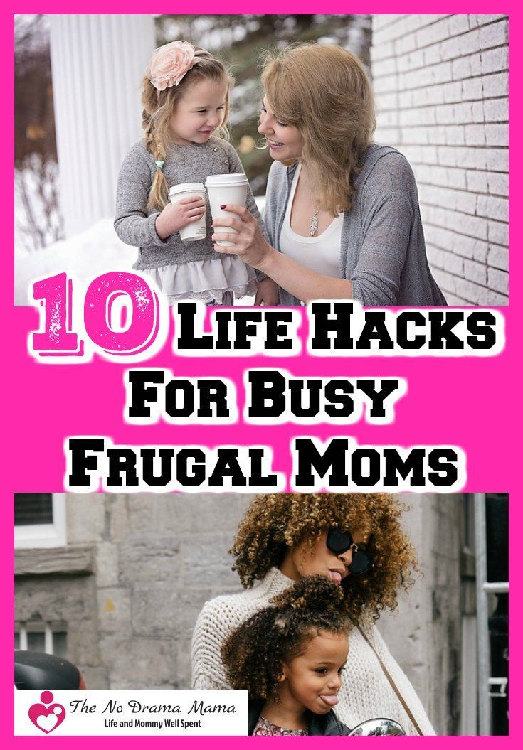 Do you have way too much to do between work and raising children? Here are 10 awesome life hacks for parents who want to get through the stuff they have to do quickly and get back to spending time with their kids.