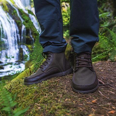 Boulder Boot Men S Zero Drop Minimalist Hiking Boots Lems Lems Shoes Trailshoes Best Hiking Boots Best Hiking Shoes Hiking Boots