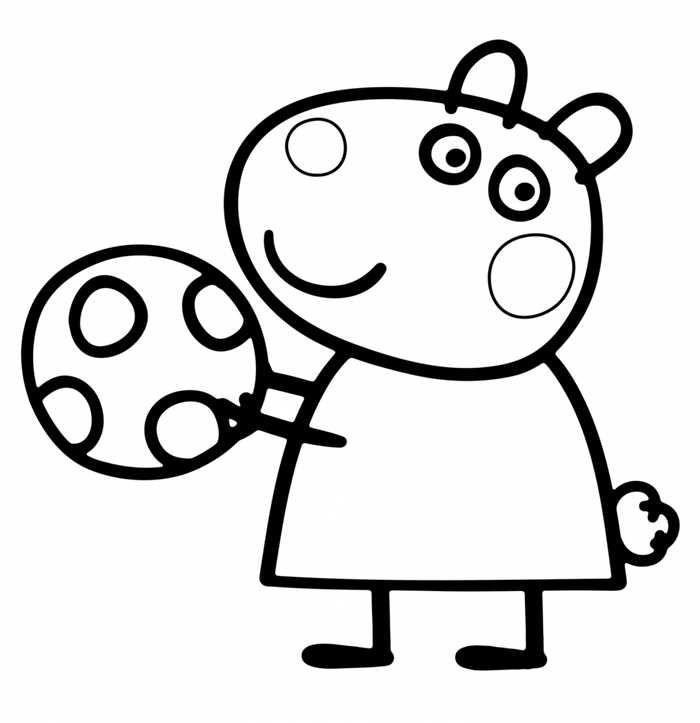 peppa pig ausmalbilder online  amorphi