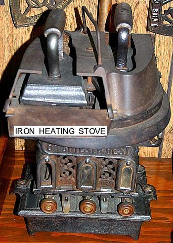 Iron Stove something unique I know it's not for cooking but so cool