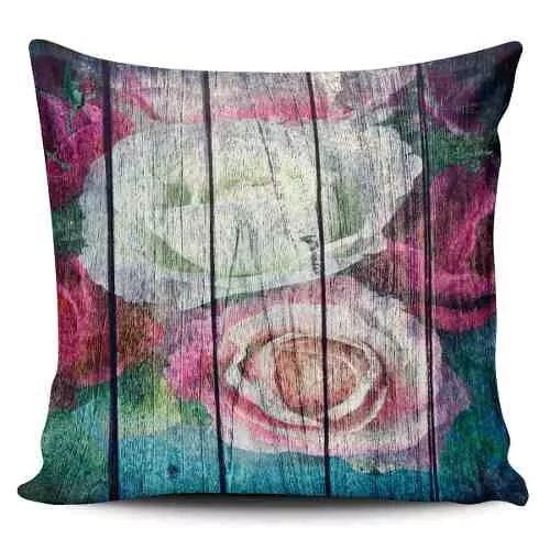 Cojin Decorativo Tayrona Store Flores Vintage - $ 43.900