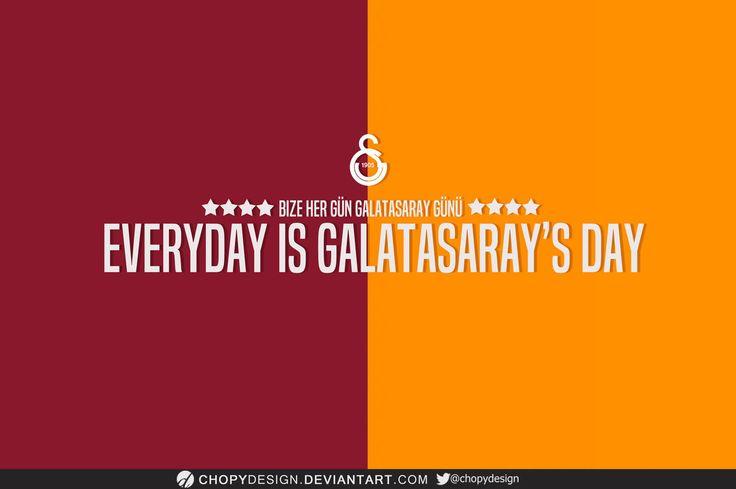 Galatasaray Wallpaper 2015 by ChopyDesign