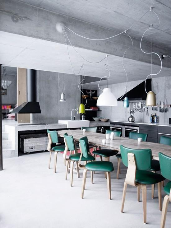Contemporary Industrial Kitchen Design