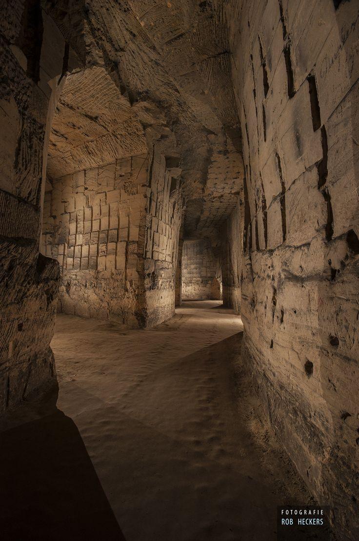 Underground limestone quarie