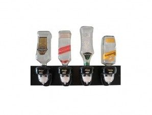 Raven 4 Bottle Wall Mount Spirit Dispenser for Sale
