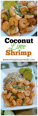 Coconut Lime Shrimp - Easy Food
