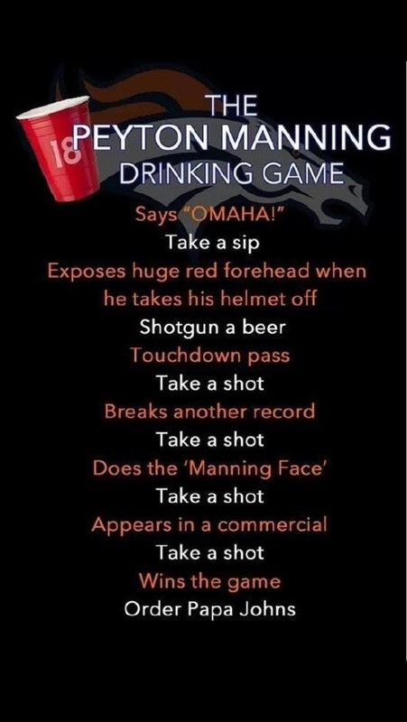 super bowl drinking games to play 2014 | ... brings donations, drinking game, meaning - National NFL | Examiner.com