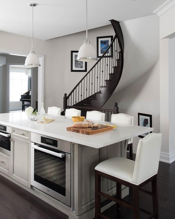 White Modern Kitchen Waplag Appliances Island Big Home: Best 25+ Quartz Counter Ideas On Pinterest