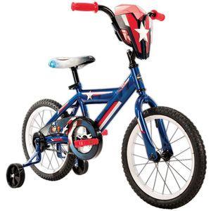 Boys 16 inch Huffy Marvel Captain America Titan Hero Bike