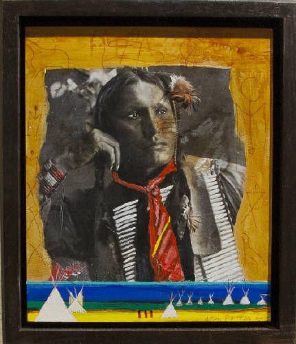 Jane Ash Poitras Artwork in Canada House Gallery
