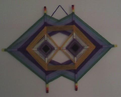 String Art - God's Eye variation