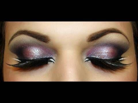 #eyes #eyeshadow #silver #pink #glamour