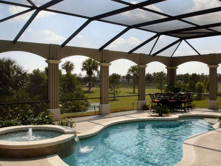 Swimming Pool Screen Enclosure