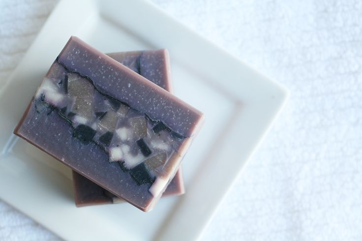 Purple Galaxy Soap - One Leaf Soap-Natural Handmade Soaps