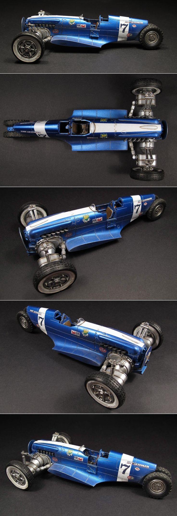 Junk Tank Rock Racer - Viper racing car - Kitbashing a Viper http://www.marceldulong.com/plastics/junk-tank-rock-racer