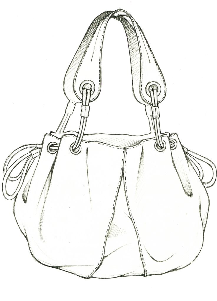 122 Best Images About Bag Sketches On Pinterest Fashion