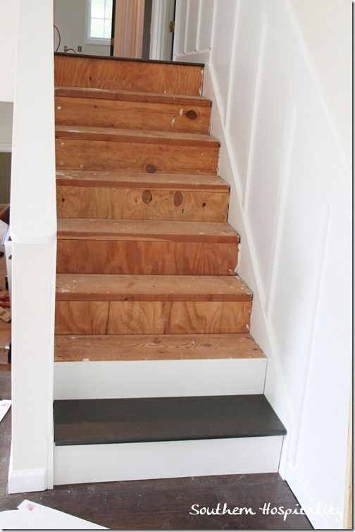Week 20 How To Install New Stair Treads Stair Treads