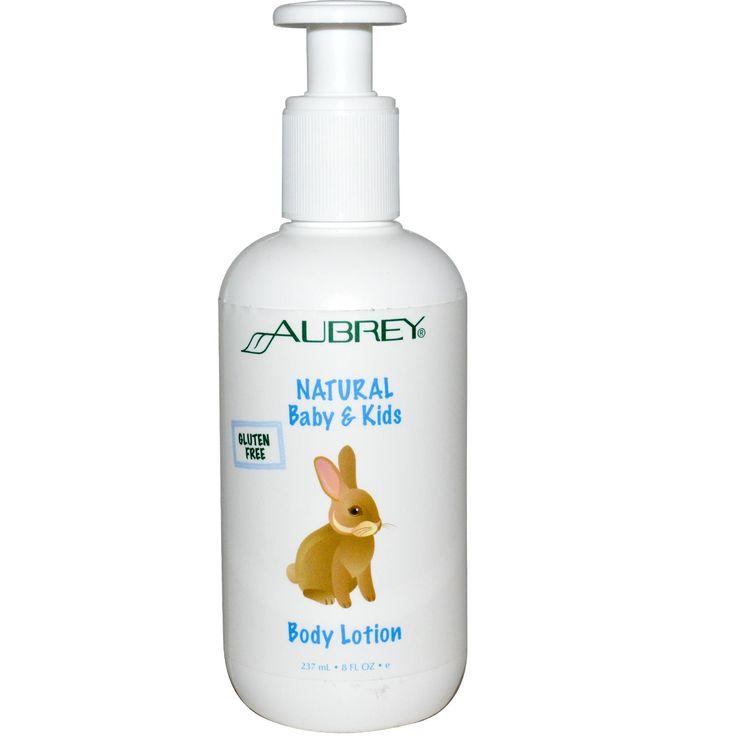 Aubrey Organics, Natural Baby & Kids Body Lotion, 8 fl oz (237 ml)