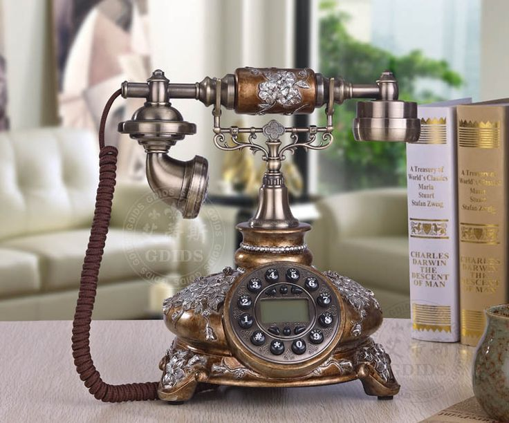 Marca GDIDS hogar moda Teléfono vintage teléfono antiguo teléfono de moda rústico en Teléfonos de Teléfonos y Telecomunicaciones en AliExpress.com | Alibaba Group