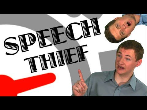 To help your brain slow down while speaking...Impromptu Speaking Game: Speech Thief! - YouTube