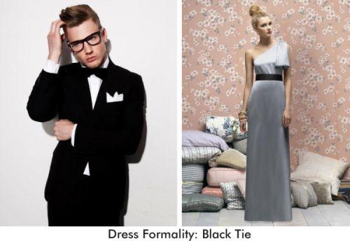 Black Tie Wedding Guest Attire