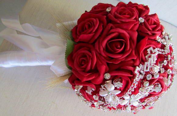 bouquet de broches