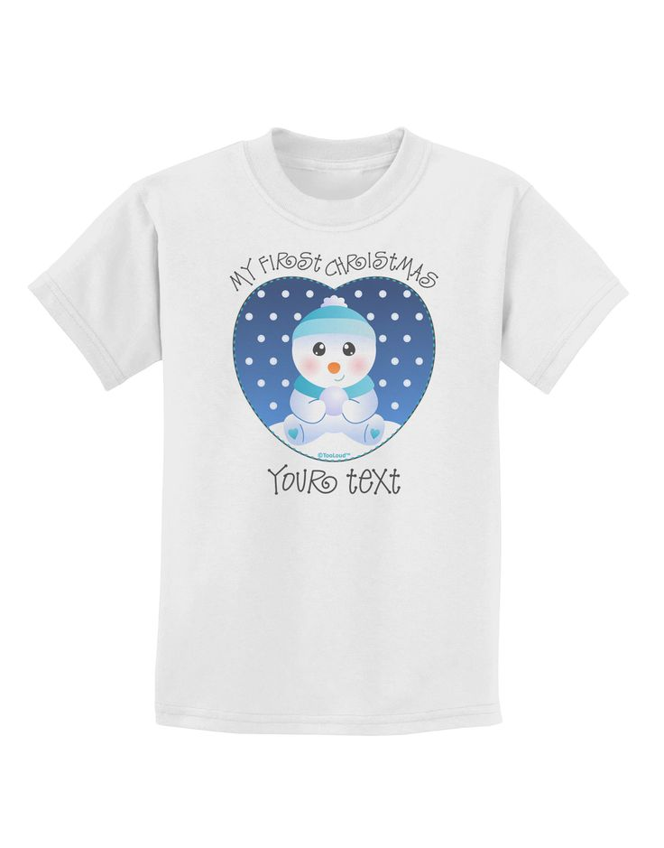 8 best washington wizards baby gift images on pinterest personalized my first christmas snowbaby blue childrens t shirt negle Image collections