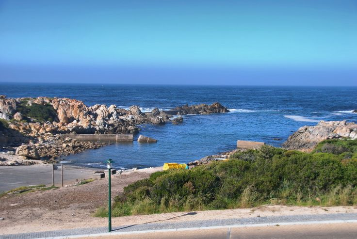 The harbour at Kleinmond, South Africa.