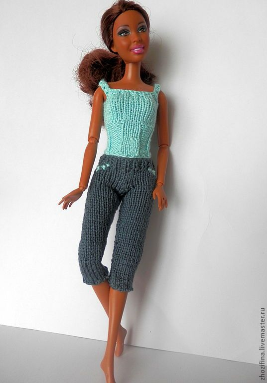вязаные вещи для кукол барби - Поиск в Google