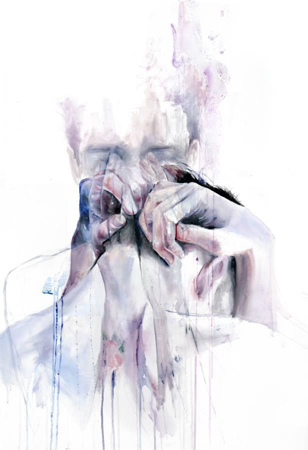 """Recovery is not simply the apologies to yourself, but also the decision to give forgiveness. Hatred of the self is exhausting. It is time  for you to rest.""  —Michelle K., What Recovery Means To Me artwork by Silvia Pelissero a.k.a. agnes-cecile"