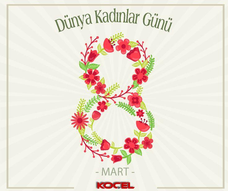 8 Mart Dünya Kadınlar Gününde, saygıdeğer Türk ve Dünya kadınlarına sağlık ve mutluluk dolu bir gelecek diliyoruz.