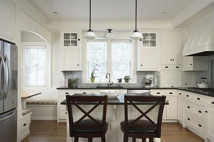 Craftsman Kitchen With Nook Dream Home Lake Cottage