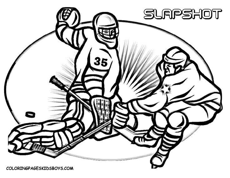 17 besten coloriage hockey bilder auf pinterest