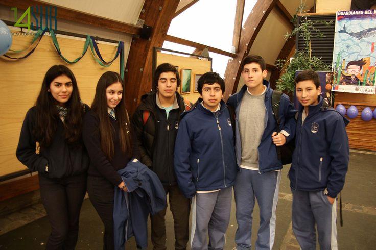 María Paz Medina, Marcela Orellana, Luis Vera, Arturo Soto, Alvaro Leal y Samuel Muñoz